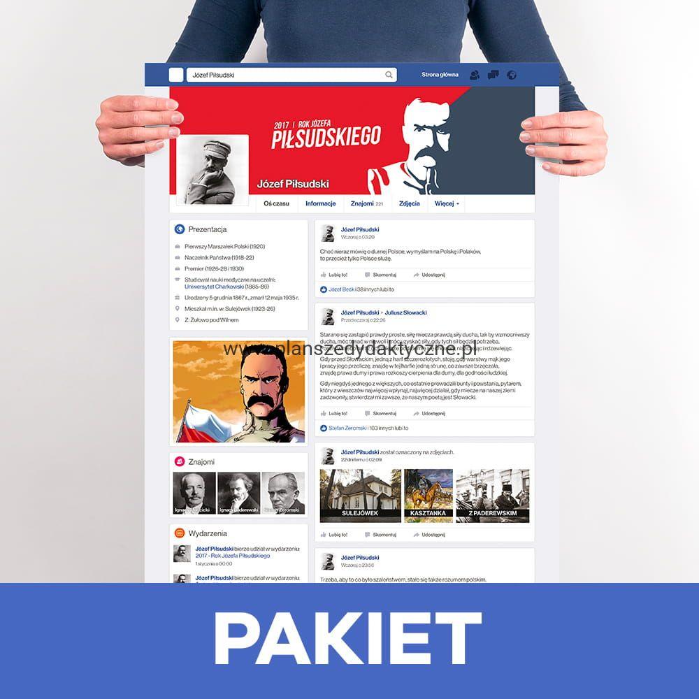 Pakiet Józef Piłsudski 3 Plakaty