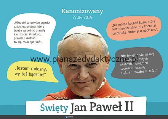 święty Jan Paweł Ii Cytaty Planszedydaktycznepl