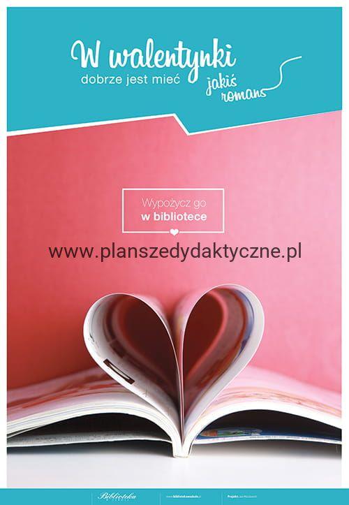 Walentynki W Bibliotece Planszedydaktycznepl