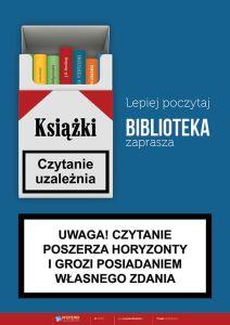 Znalezione obrazy dla zapytania plakaty biblioteczne