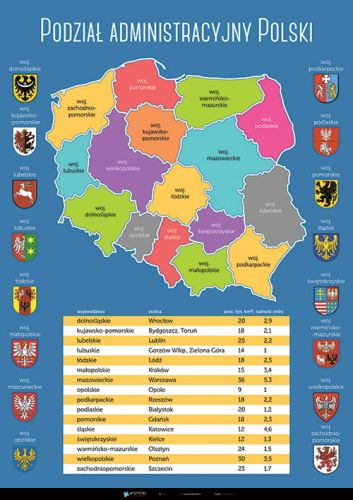 Podział Administracyjny Polski Planszedydaktyczne Pl