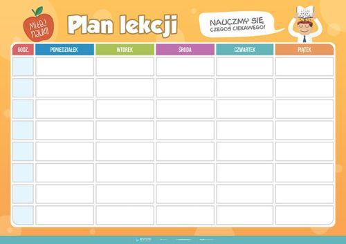 Plan Lekcji Planszedydaktyczne Pl